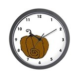 Pumpkinn Wall Clock