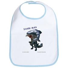 Chace Lobleys Shark man. Bib