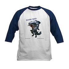 Chace Lobleys Shark man. Kids Baseball Jersey