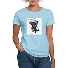Chace Lobleys Shark man. Women's Light T-Shirt
