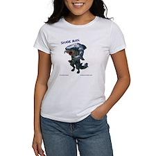 Chace Lobleys Shark man. Women's T-Shirt