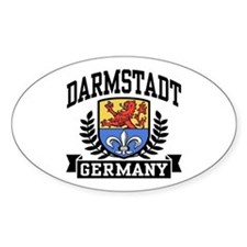 Darmstadt Germany Decal