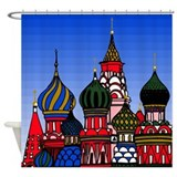 St. Basil's Cathedral Shower Curtain