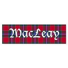 Tartan - MacLeay Sticker (Bumper 50 pk)