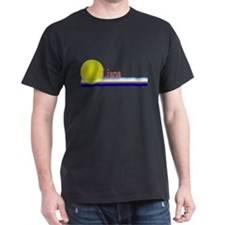 Liana Black T-Shirt