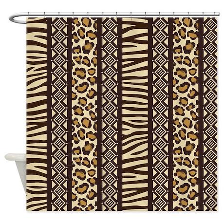 African Print Shower Curtain By Bestshowercurtains