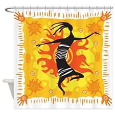 Tribal Dancer Shower Curtain