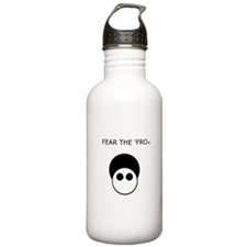 Fear the 'Fro Water Bottle