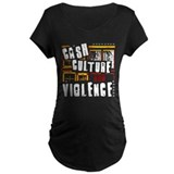 Cash Culture and Violence T-Shirt