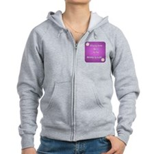Delivery Room Nurse by day Mommy by night Zip Hoodie