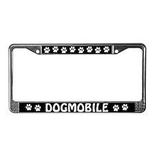 Dogmobile License Plate Frame