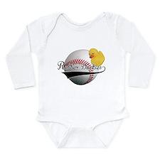 Rubber Duckies Jersey Long Sleeve Infant Bodysuit