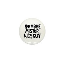 Mr. Nice Guy Mini Button (10 pack)