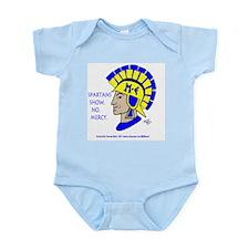 Spartan Mel -No Mercy! Infant Bodysuit