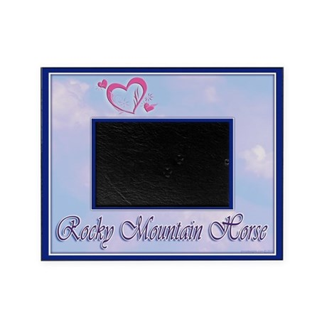 rocky mountain horse photo frame gift