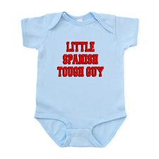 Little Spanish Tough Guy Infant Bodysuit