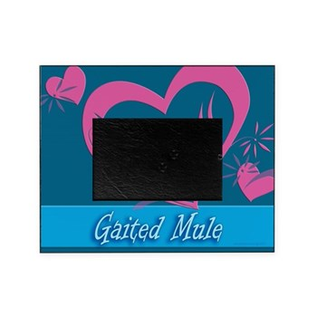 gaited mule picture frame