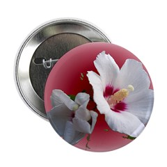 Rose of Sharon 2.25&quot; Button (100 pack)