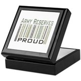 Military Army Reserves Proud Keepsake Box