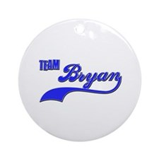 Team Bryan Ornament (Round)