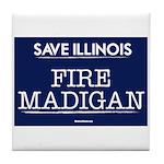 Fire Madigan Tile Coaster