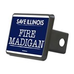 Fire Madigan Rectangular Hitch Cover