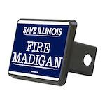 Fire Madigan Rectangular Hitch Cover