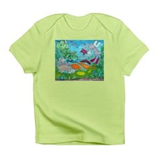 Fish painting by Nancy Porter. Infant T-Shirt