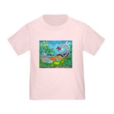 Fish painting by Nancy Porter. Toddler T-Shirt