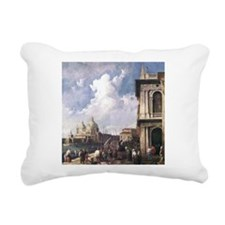 Canaletto Piazza in Venice Rectangular Canvas Pill