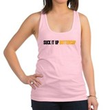Suck it Up Buttercup Racerback Tank Top