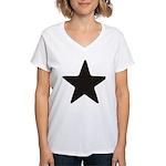 Simplicity Star Women's V-Neck T-Shirt