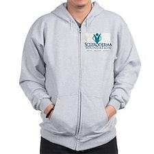 Scleroderma Foundation Zipped Hoody