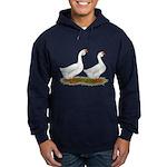 White African Geese Hoodie (dark)