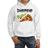 Interpreter Fueled By Pizza Jumper Hoody