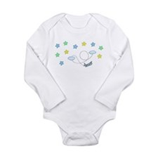 Unique Infant plane Long Sleeve Infant Bodysuit