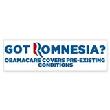 Got Romnesia Bumper Sticker