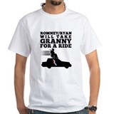 Romney Granny Roof Ride Medicare Shirt