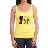 weather cats Ladies Top