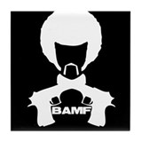 BAMF Tile Coaster