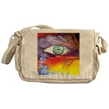 Artful Eye Messenger Bag