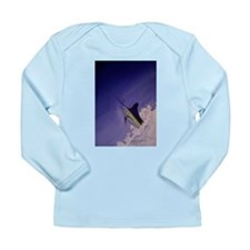 Marlin Deep Sea Fishing Long Sleeve Infant T-Shirt