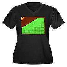 orbital chart Women's Plus Size V-Neck Dark T-Shir