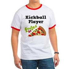 Kickball Player Funny Pizza T