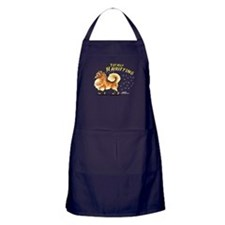 Pomeranian Hairifying Apron (dark)
