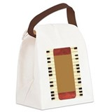Piano Frame Canvas Lunch Bag