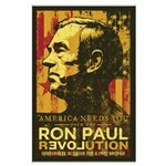 Ron Paul Needs You Large Poster