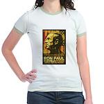 Ron Paul Needs You Jr. Ringer T-Shirt
