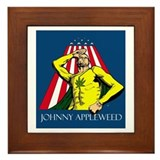 Appleweed Framed Tile - Artwork by Aaron Allen
