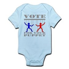 Vote For Your Puppet Infant Bodysuit